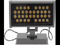 Proiector LED, 36 x 1W/RGB, IP65, TG-4203.1336
