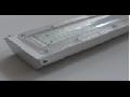 Corp de iluminat cu LED, 582 x 114 x 74 mm, 22W, IP65