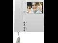 Post interior video interfon,