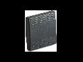 Tasta intrerupator, simpla, 2 module, gri