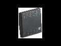 Tasta intrerupator,  simpla, 2 module, cu iluminat,  gri