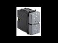 Intrerupator 2P16AX 250V~ 6 terminale, argintiu