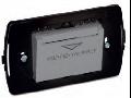 Intrerupator tip insigna buzunar cu suport, 3 module, 16A 250V~, argintiu