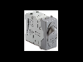 Intrerupator automat magnetotermic 1P+NC6A ,1500A, argintiu