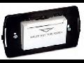 Intrerupator tip insigna buzunar cu suport, 3 module, 16A 250V~, alb