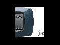 Placa ornament technopolimer monobloc, 2 module, albastru inchis
