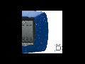 Placa ornament technopolimer monobloc, 2 module, albastru violet