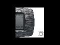 Placa ornament technopolimer monobloc, 2 module, gri satin