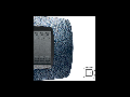 Placa ornament technopolimer monobloc, 2 module, albastru satin