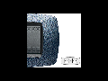 Placa ornament technopolimer, 2+2 module, albastru satin