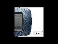 Placa ornament technopolimer, 7 module, albastru satinat