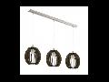Lampa suspendata Cossano,3x40w,E14