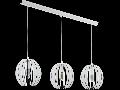 Lampa suspendata Cossano,3x40w,E14,alb