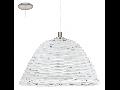 Lampa suspendata Campilo2,1x60w,E27,D360,alb