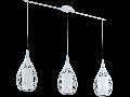 Lampa suspendata Razoni,3x60w,E27,alb
