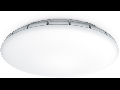 Plafoniera RS PRO LED S1 cu senzor de miscare inalta frecventa,16 W,lumina calda,abajur sticla