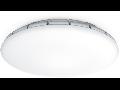 Plafoniera RS PRO LED S1 cu senzor de miscare inalta frecventa,16 W,lumina rece,abajur sticla