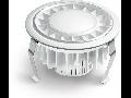 Spot RS PRO DL LED,22 W,lumina calda,alb