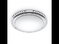 Plafoniera RS PRO LED S1 cu senzor de miscare inalta frecventa,16 W,lumina rece,anti shock,IP65,Opal