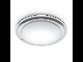 Plafoniera RS PRO LED S2 cu senzor de miscare inalta frecventa,28 W,lumina rece,anti shock,IP65,Opal