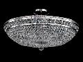 Candelabru Diamant Crystal Ottilia,12 becuri dulie E14, 230V,D.65cm, H.34 cm,Nichel