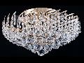 Candelabru Diamant Crystal Karolina,9 becuri dulie E27, 230V,D.51cm, H.27 cm,Auriu