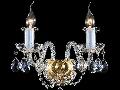 Aplica Diamant Crystal Elegia,2 x E14, 230V, D.29cm,H.28 cm,Auriu