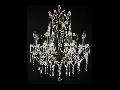 Candelabru Diamant Crystal Castle,8 becuri dulie E14, 230V,D.65cm, H.75 cm,Bronz