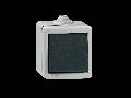 Intrerupator antivandalism, carcasa metalica, 10a  230V Ip55