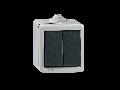 Comutator antivandalism, carcasa metalica, 10a  230V Ip55