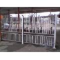 Gard din inox  porti garduri  porti si garduri