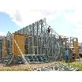 Case pe structuri metalice galvanizate