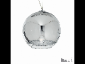 Pendul Discovery D30, 1 bec, dulie E27, L:300mm, H:350/1180mm, Crom