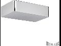 Aplica Brick, 2 becuri, dulie G9, L:200 mm, H:50 mm, Argintiu