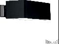 Aplica Box, 2 becuri, dulie G9, L:200 mm, H:70 mm, Negru