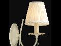 Aplica Elegant Olivia,1 x E14, 230V, D.15cm,H.31 cm,Abajur Crem