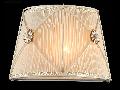 Aplica Elegant Lea,1 x E14, 230V, D.28cm,H.19 cm,Alb auriu