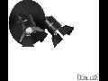 Aplica Ciak, 2 becuri, dulie GU10, L:270 mm, H:185 mm, Negru