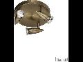 Plafoniera Alfa 3 becuri, dulie GU10, D:210 mm, H:160 mm, Alama antica