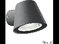 Aplica de exterior Gas, 1 bec, dulie GU10, L:115 mm, H:95 mm, Antracit
