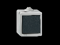 Intrerupator cap scara antivandalism, carcasa metalica, 10a  230V Ip55