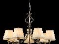 Candelabru Vesta,7 becuri dulie E14, 230V,D.75cm, H.53 cm,Bronz