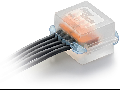 Cutie conexiuni electrice submersibile IPX8 38x38x26mm