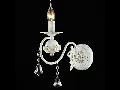Aplica Elegant Faberge,1 x E14, 230V, D.12cm,H.26 cm,Alb