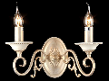 Aplica Elegant Perla,2 x E14, 230V, D.30cm,H.28 cm,Auriu