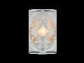 Aplica House Venera,1 x E14, 230V, D.18 cm,H.27 cm,Crem