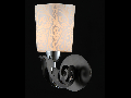 Aplica Eurosize Melvil,1 x E14, 230V, D.20cm,H.25 cm,Crom