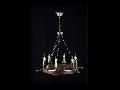 Candelabru  Elegant Frigate,6 x E14, 230V, D.60cm,H.51 cm,Bronz