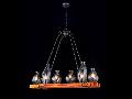 Lampa suspendata  House Flask,6 x E14, 230V, D.91cm,H.83 cm,Maro