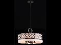 Lampa suspendata  House Venera,4 x E14, 230V, D.55cm,H.33 cm,Maro inchis